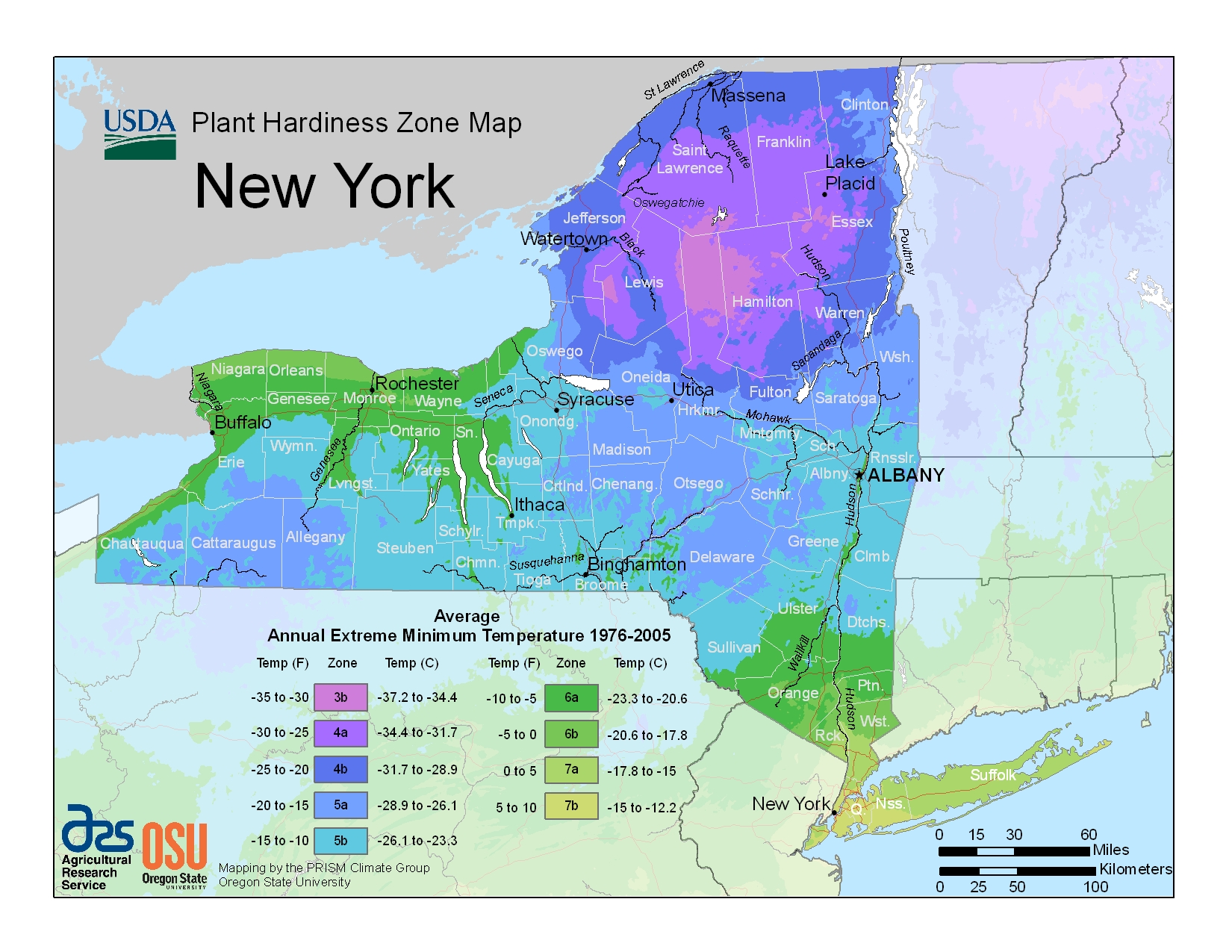 Plant Hardiness Zones The How Do Gardener - Us zoning map planting