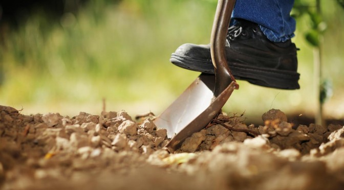 Call 811 before every digging project, large or small